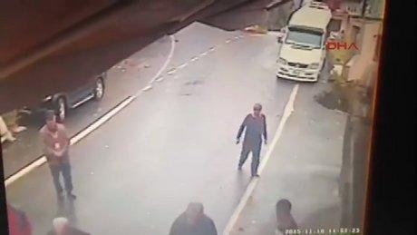 Rize'de silahlı kavga