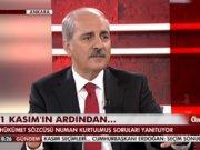 Numan Kurtulmuş Habertürk TV'de - 2.Bölüm
