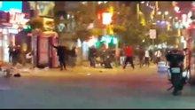 Şirinevler'de işportacılarla polis arasında arbede
