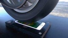 iPhone'un üzerinde patinaj çekilirse?