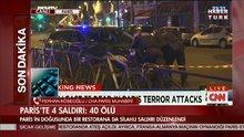Paris'te saldırı: en az 60 ölü