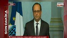 Hollande: Saldırıları IŞİD düzenledi