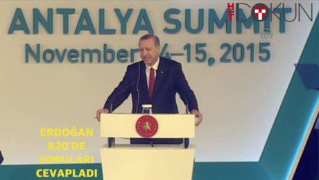 Erdoğan B20'deydi