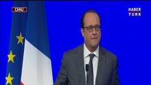 Fransa cumhurbaşkanı Hollande'dan çarpıcı açıklamalar