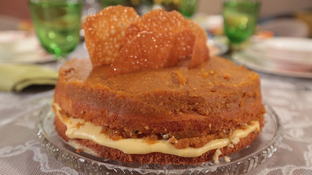 Balkabağı Pastası