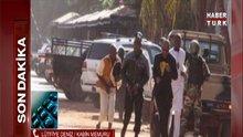Mali'deki Kabin memuru telefon bağlantısı