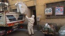 Çöp evi temizlenen kadın kendisini asmak istedi!