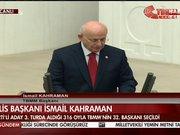 TBMM Başkanı AK Parti'li İsmail Kahraman oldu