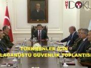 davutoğlu türkmen güvenlik