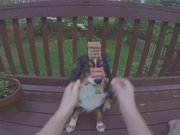 Dünyanın en sabırlı köpeği