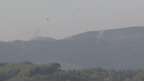 Esad güçleri Türkmenleri bombalamaya devam ediyor