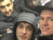 Lokomotiv Moskova'lı oyuncular maça metro ile yetişti