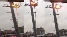 Elektrik direğindeki dehşet ölüm