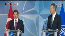 Başbakan Davutoğlu ve NATO Genel Sekreteri Stoltenberg Brüksel'de