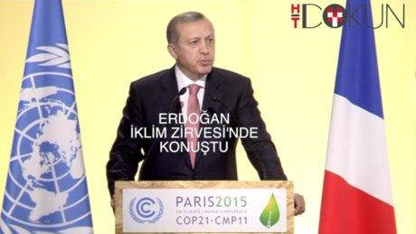 Erdoğan iklim zirvesi'nde konuştu