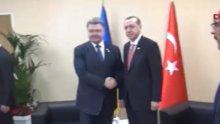 Erdoğan Ukrayna Başbakanı ile görüştü