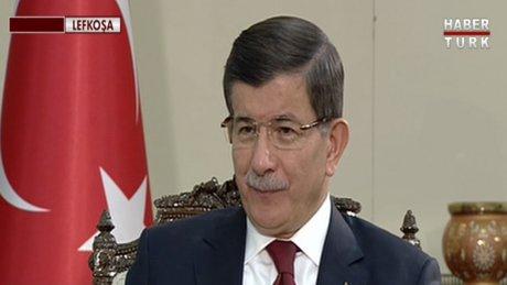 Başbakan Davutoğlu Habertürk TV'de - 1.Bölüm