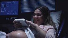 Görme engelli anneye bebeğinin 3boyutlu baskısı verildi