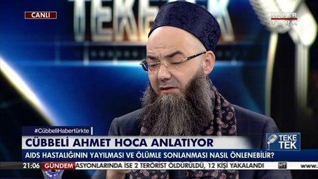 Cübbeli Ahmet Hoca AIDS hastalığına değindi