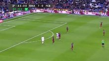 Real Madrid Barcelona'yı 7-0 yense