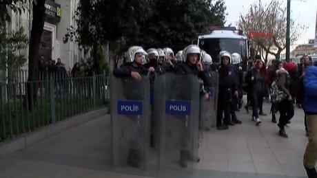 İstanbul Üniversitesi olaylar çıktı