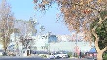 Nato gemileri İstanbul Boğazında