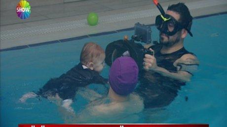 Yürümeye başlamadan yüzmeye başladılar