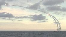 Rusya Suriye'yi ilk kez denizaltıdan Cruise füzeleriyle vurdu