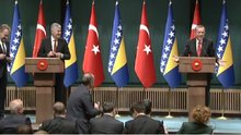 Muhabirin sorusu Erdoğan'ı güldürdü
