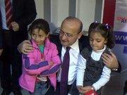 Yalçın Akdoğan, Türkmenleri ziyaret etti