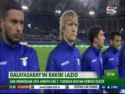 Galatasaray'ın rakibi Lazio