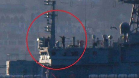 """""""O gemi"""" tekrar Boğaz'da!"""