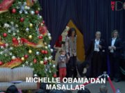 Michelle Obama'dan Noel Masalları