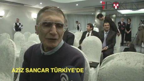 Aziz Sancar Türkiye'de