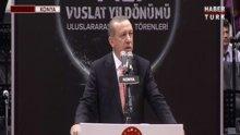 """Erdoğan """"Vuslat""""ın yıldönümünde konuştu - 1.Bölüm"""