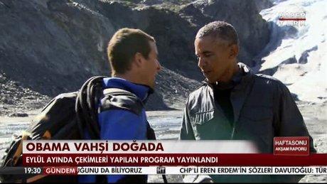 Obama vahşi doğada