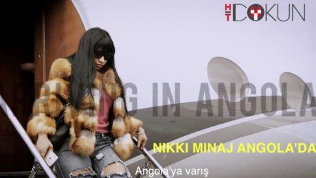 Nicki Minaj Angola'da konser verdi