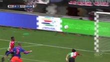 Golü çalan futbolcu