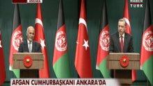 Afgan Cumhurbaşkanı Ankara'da