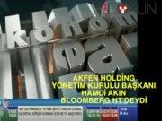 EKO Akfen Holding Yönetim Kurulu Başkanı Hamdi Akın Bloomberg HT'deydi