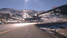 Uludağ'da yılbaşı hazırlıkları tamamlandı ama kar yok