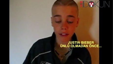 Justin Bieber'ın çocukluğundan ilginç görüntüler