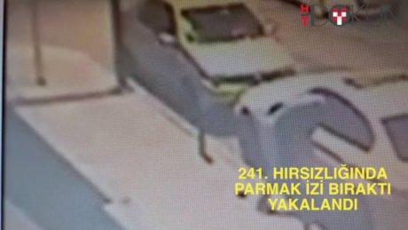 Şişli'de hırsız 241. suçunda yakalandı