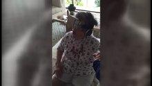 Yaşlı kadın yeniden doğdu