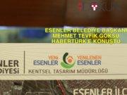Esenler Belediye Başkanı Tevfik Göksu Habertürk'e konuştu