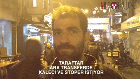 Beşiktaş taraftarı kaleci ve stoper istiyor