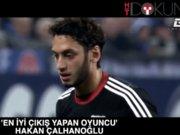 En iyi çıkış yapan Hakan Çalhanoğlu