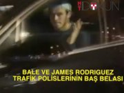Bale ve James Rodriguez polisi çıldırttı