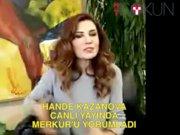Hande Kazanova HT Dokun canlı yayınında Merkür'ü yorumladı