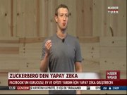 Zuckerberg'den yapay zeka